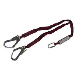 Expandable Shock Absorbing Lanyard