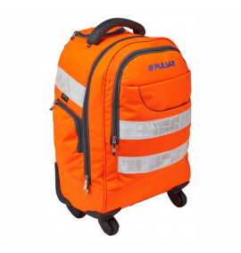Pulsar Hi-Vis Orange Trolley Back Pack