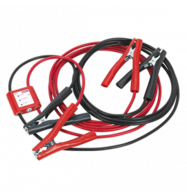 Booster Cables with 12V Electronics Protection (5 Metres)