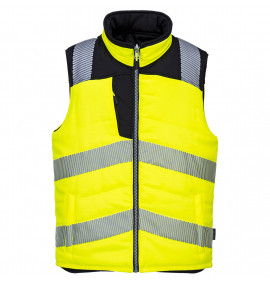 Portwest PW3 Hi-Vis Reversible Bodywarmer