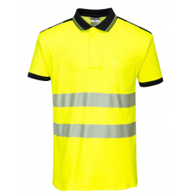Portwest Hi-Vis Vision Polo Shirt