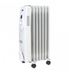 Oil Filled Radiator 1500W/230V 7 Element
