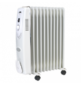 Oil Filled Radiator 2500W/230V 11 Element