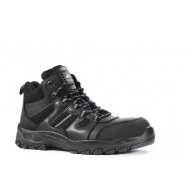 Rock Fall Marble Black Hiker Styled Safety Boot