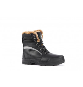 Rock Fall Alaska Black Cold Temperature High Leg Boot