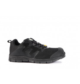 Rock Fall FaraDri Black ESD Sports Styled Safety Trainer