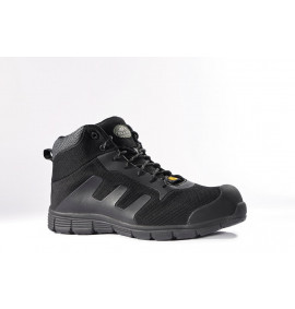 Rock Fall TeslaDri Black ESD Sports Styled Safety Boot