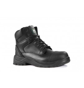 Rock Fall Slate Black Wide Fitting Safety Boot