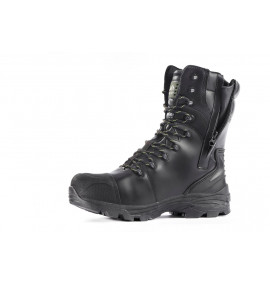 Rock Fall Monzonite Black High Leg Metatarsal Safety Boot