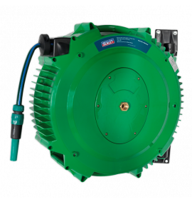 Retractable Water Hose Reel 18m 12mm ID PVC Hose