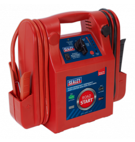 RoadStart® Emergency Jump Starter 12/24V (3200/1600 Peak Amps)