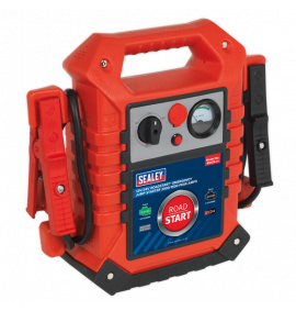 RoadStart® Emergency Jump Starter 12/24V (3000/1500 Peak Amps)