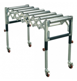 Adjustable Roller Stand 450-1300mm 130kg Capacity