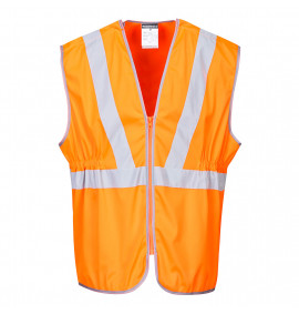 Portwest Hi-Vis Long Vest, GO/RT