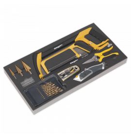 Tool Tray with Cutting & Drilling Set 28pc