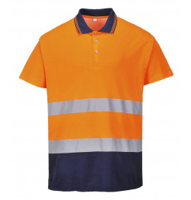 Portwest Two Tone Cotton Comfort Polo