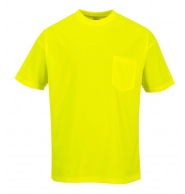 Portwest Day-Vis Pocket Short Sleeve T-Shirt
