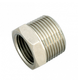 "Adaptor 3/4""BSPT Male to 1/2""BSP Female"