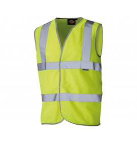 Dickies High Visibility Highway Safety Waistcoat