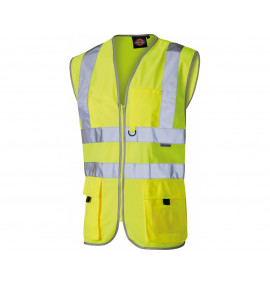 Dickies High Visibility Technical Waistcoat