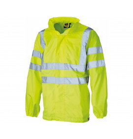 Dickies Hi-Visibility Waterproof Lightweight Jacket