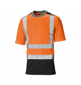 Dickies High Visibility Two Tone Mesh T-Shirt