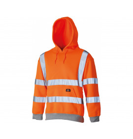 Dickies Hi-Visibility Safety Hooded Sweatshirt
