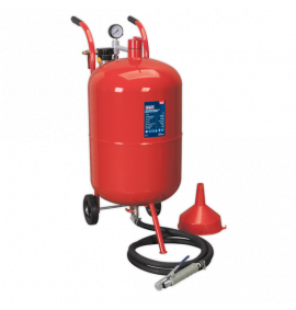 Shot Blaster with Water Trap & Wheels (75 Litres)