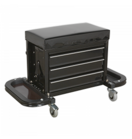 Mechanic's Utility Seat & Toolbox