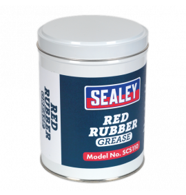 Red Rubber Grease 500g Tin