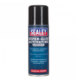 Super Glue Activating Aerosol 200ml Pack of 6