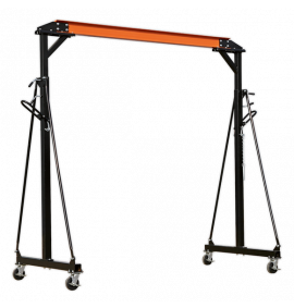 Portable Gantry Crane Adjustable 1tonne