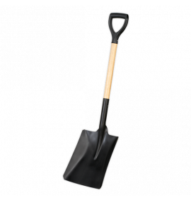 Shovel with 710mm Wooden Handle