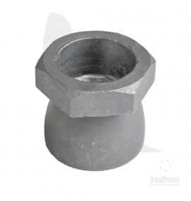 Galvanised Shear Nut