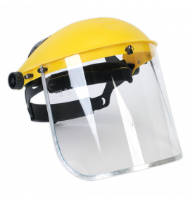 Brow Guard & Full Face Shield