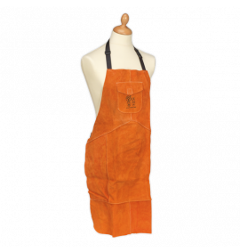 Leather Welding Apron Heavy-Duty