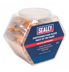 Ear Plugs Disposable Pack of 100 Pairs