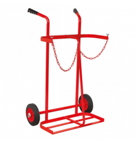 Welding Bottle Trolley - 2 Bottle