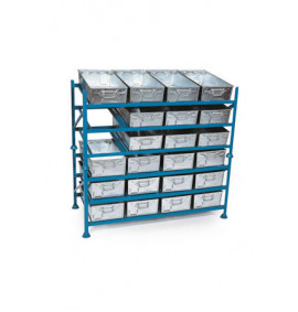 Stacking Rack for Tote Pans