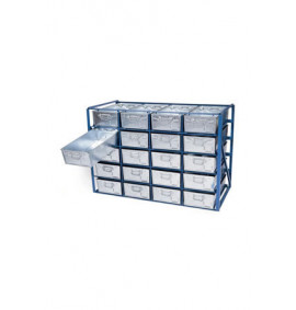 High Density Rack for Tote Pans