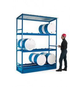 Drum Storage Unit