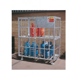 Gas Cylinder Cage - Static