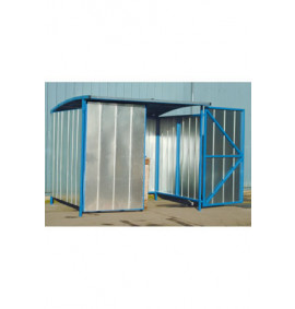 Storage Shelter - Galvanised Doors - BSUG2Z