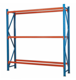 Two Level Tyre Rack 200kg Capacity Per Level