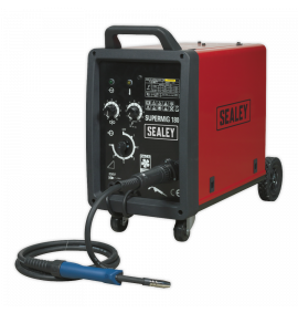 Professional MIG Welder 180Amp 230V with Binzel® Euro Torch
