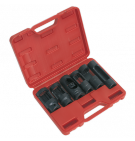 "Diesel Injector Window Socket Set 6pc (1/2""Sq Drive)"