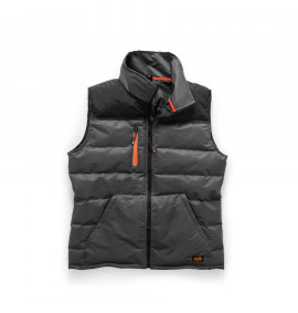 Scruffs Worker Bodywarmer (Black & Charcoal)