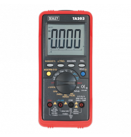 Digital Automotive Multimeter 15 Function Bar Graph/PC Link