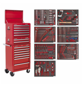 Tool Chest Combination 14 Drawer with Ball Bearing Slides