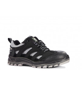 Rock Fall Maine Black  Reflective Safety Trainer
